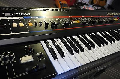 ROLAND Juno 60 Vintage Analogue Synthesiser Keyboard Great Condition.