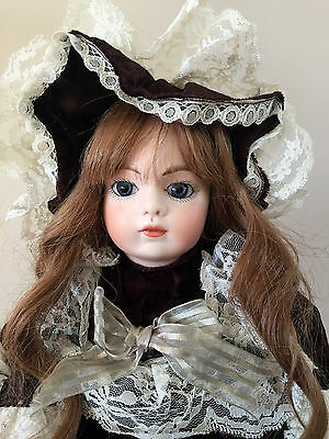 1973 Artist Reproduction Paris France French Bru Jne Antique Doll