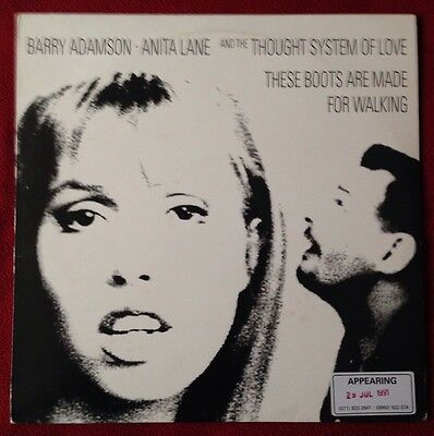 "Barry Adamson * Anita Lane 'These Boots Are Made For Walking' 12"" Vinyl Single"