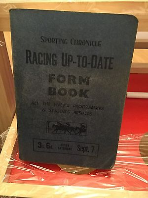 Racing Up - To - Date Form Book.September 7  1957.