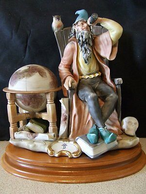 """Franco  Large Figurine  """"The Astrologer"""" - Excellent condition"""