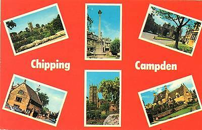 Chipping Campden - Gloucestershire - Multiview - Postcard 1981