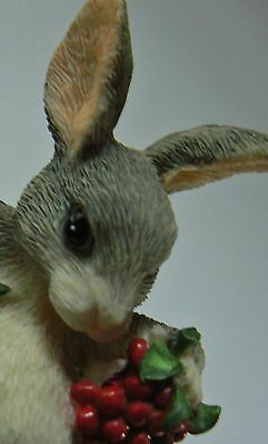 Charming Tails The Berry Best Rabbit Figurine
