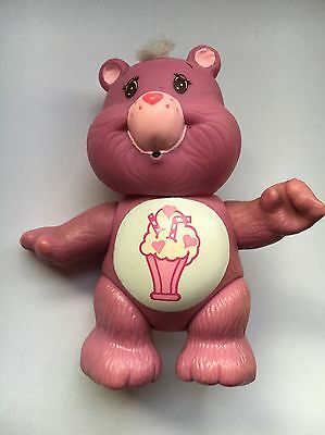 Care Bears - Figure - Vintage 1980s - Toy - Share Bear - Beautiful Condition