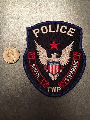 South Strabane Township Pennsylvania Police Department Patch Pa