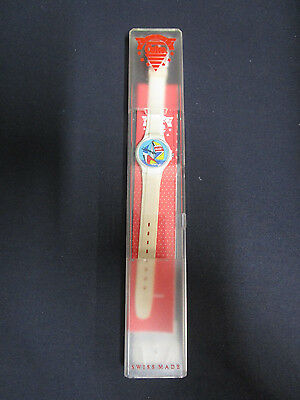 Coke Watches Coca-Cola Collectible Ladies Wristwatch Beige With Sailboat
