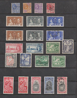 Collection Of Early M/m & Used Stamps From Guiana  , See Scan
