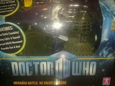 Dr Who figures dalek Ironside remote control in box