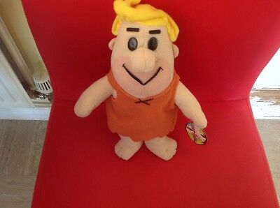 Hanna barbers barney rubble soft toy