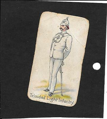 Hill - Colonial Troops (Perfection) - 1901 - 1 Card - Trinidad Light Infantry