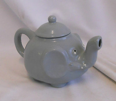 STUNNING Vintage Collectable TRADITIONAL CERAMIC DECORATIVE ELEPHANT TEAPOT