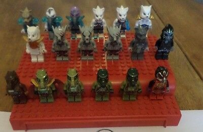 Huge Lego Chima 18 figure bundle