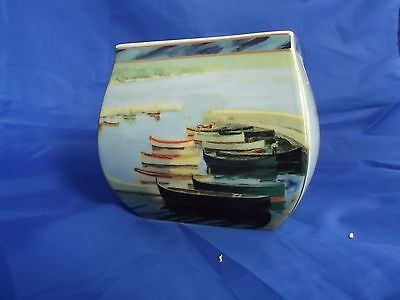 "Border Fine Arts.   ""A Study of Boats"" by Winston Churchill.  Reduced to sell."