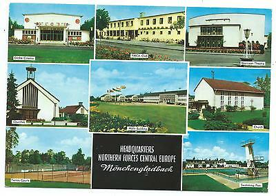 MILITARY / GERMANY - Headquarters NORTHERN FORCES CENTRAL EUROPE Postcard  F.P.O