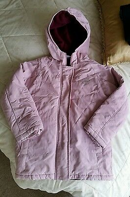 Girls pink coat jacket age 6