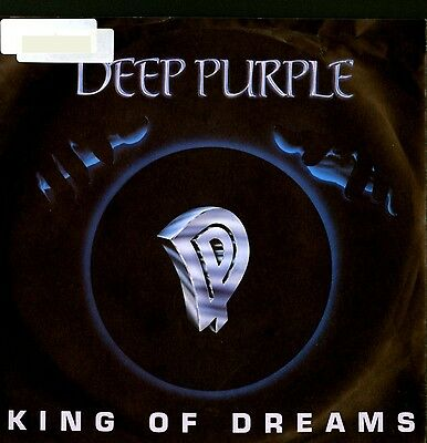 "Vinyl Single 7"" – Deep Purple - King Of Dreams - 1990 – Rar"