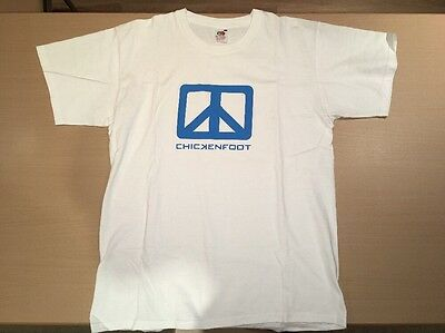 Chickenfoot Promo Logo T Shirt (Red Hot Chili Peppers Chad Smith Van Halen)