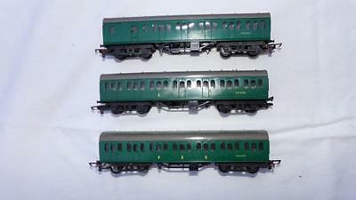 Triang TT Rake of 3  Southern Coaches