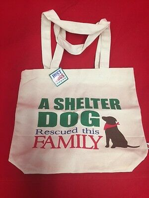 A Shelter Dog Rescued This Family Tote Bag