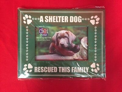 A Shelter Dog Rescued This Family Picture Frame