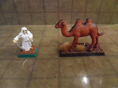 25mm / 28mm Painted Camel Animal Companion. Pathfinder Dnd. Minees