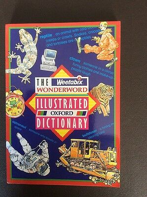The Weetabix Wonder Word Illustrated Oxford Dictionary Book