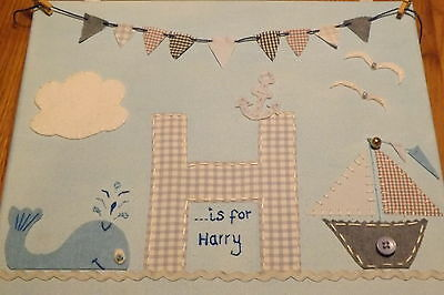 Canvas wall art. Children's,Nursery. Personalised.Canvas/Fabric Custom Pictures.