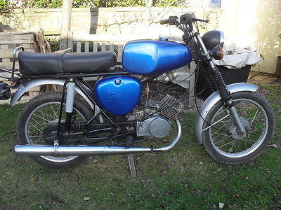 Simson S50 Sport Motorcycle 49cc. 1975 Two Stroke for Restoration.