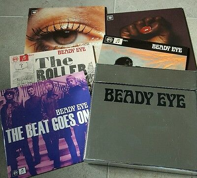 Beady Eye - Silver Collectors Box + 5 Vinyl Singles - Limited Editions - Oasis