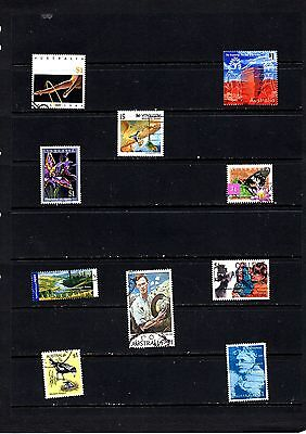 Australia 10 Dollar Stamps All Different Collection  8