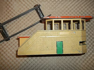 O GAUGE 0 TRACK- buildings and stations - SIGNAL BOX
