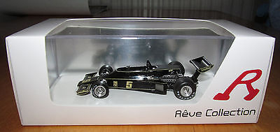 Reve Collection Lotus 77 presentation car 1:43 Scale in original display / box