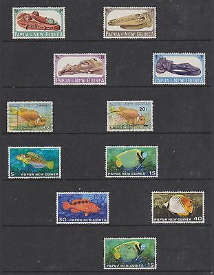 Papua New Guinea Stamps All In Good Condition , See Scans