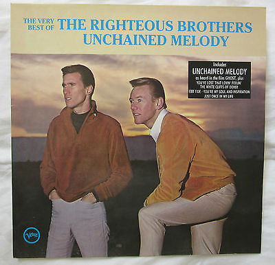 Unplayed Lp Album - Very Best Of Righteous Brothers - Unchained Melody 1990