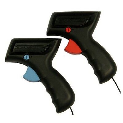 Two Scalextric C8437 Analogue Controller *NEW* Hand Throttle Red & Blue Triggers