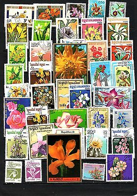 Thematics 40 All Different Collection 28 Flowers