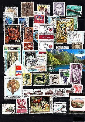 Thematics 40 all Different Collection124 World Wide Plus Sheetlets