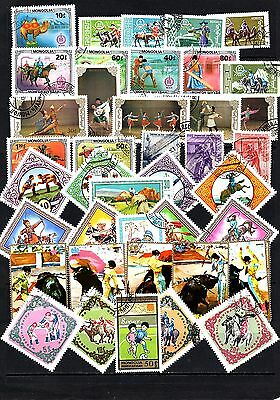 Thematics 40 all Different Collection127 World Wide Plus Sheetlets
