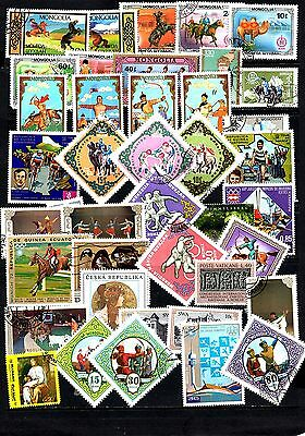 Thematics 40 all Different Collection128 World Wide