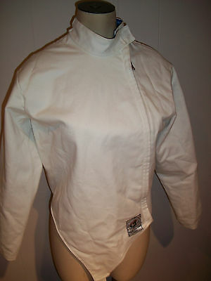 Blue Gauntlet Fencing Jacket   size 36 women or child  ( Extra Small  XS )