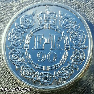 2016 Five Pounds £5 Coin QEII 90th Birthday Commemorative BU New Royal Mint