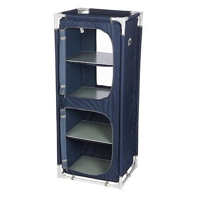 Brand New Spinifex Shelf Camp Camping Foldable Cupboard Storage Shelves Blue