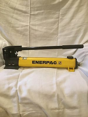 "Enerpac P-392 Hydraulic Hand Pump 10,000Psi 2 Speed 3/8"" Npt New"