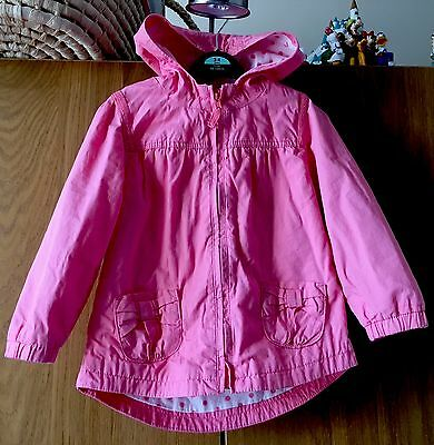 Girls Next Stunning Coral Jacket Age 2-3 Hardly Worn Stunning ��