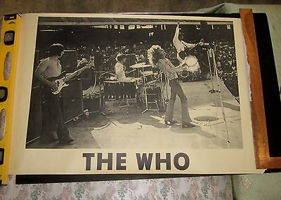 THE WHO!  Poster!    FAB!