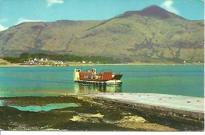 CORRAN FERRY Sailing between ARDGOUR / CORRANnear Fort William Ballachulish MULL