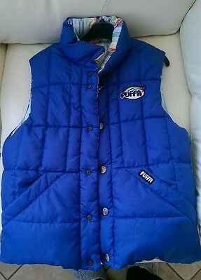 Fully reversible PUFFA jacket gilet size JXL (age 12 approx) excellent condition