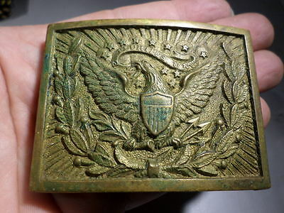 Civil War to Spanish American War US Army Officer Belt Buckle