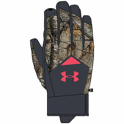 Under Armour Womens Primer 2.0 Glove Realtree Xtra Camo - Small - Hunting