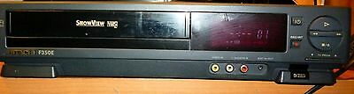 Videoregistratore Hitachi F350E Showview Vhs Pal Hi-Fi Stereo Vcr Video Deck